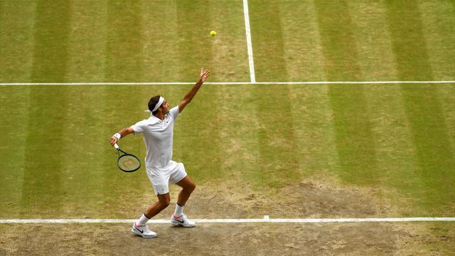 Comme un symbole, Federer a reconquis son Royaume sur un 8e ace : la balle de match en vidéo