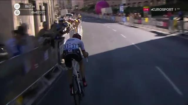 Моллема всех перетерпел и никого не подпустил к себе на финише 15-го этапа