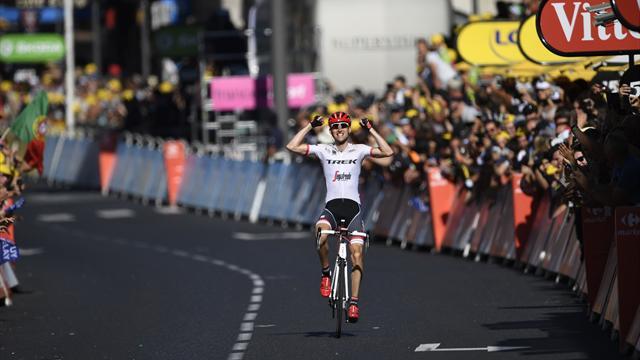 Mollema a pu savourer sa première : l'arrivée de la 15e étape