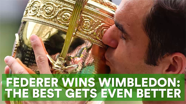 Federer's miracle year: How the best got even better