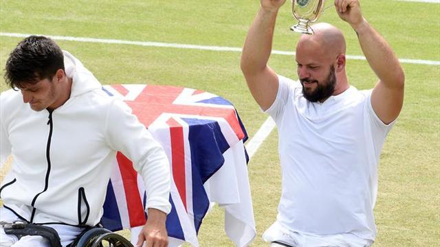 Derrota argentina en la final júnior y en la modalidad silla de ruedas en Wimbledon