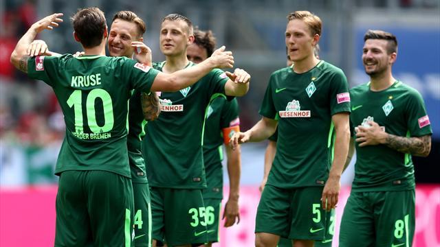 Testspiele: Bremen gewinnt in Osnabrück, Hertha souverän gegen Jena
