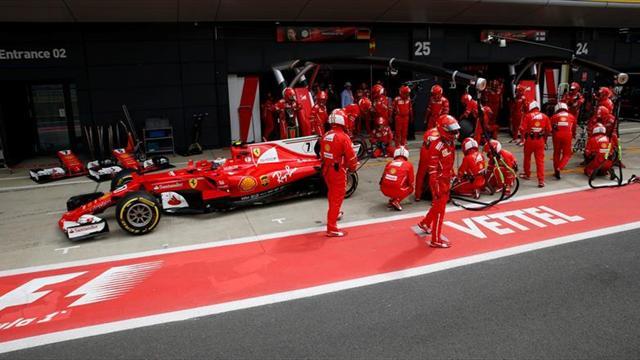 Pirelli dice que neumáticos de Vettel y Raikkonen tuvieron fallos distintos