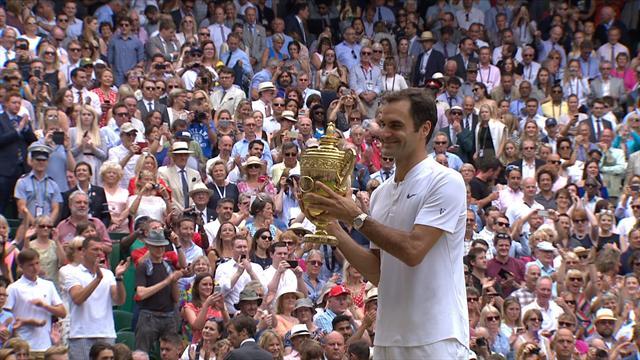 Wimbledon 2017: Marin Cilic - Roger Federer (Özet)
