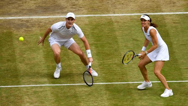 Hingis und Murray gewinnen Mixed in Wimbledon