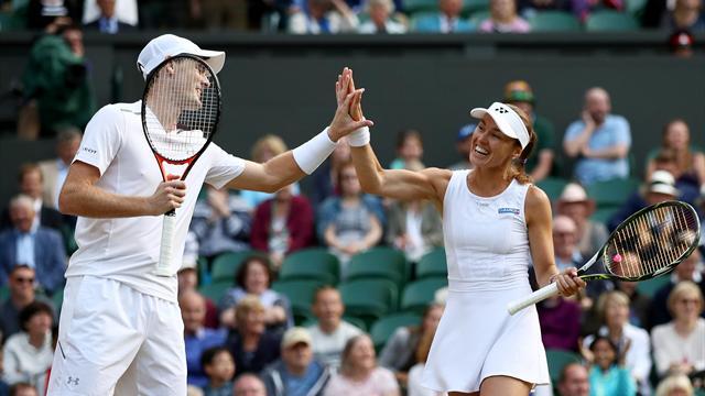 Маррей и Хингис выиграли турнир в миксте