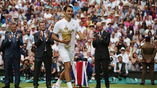 Federer finally reaches his 'special number' - and he's still improving