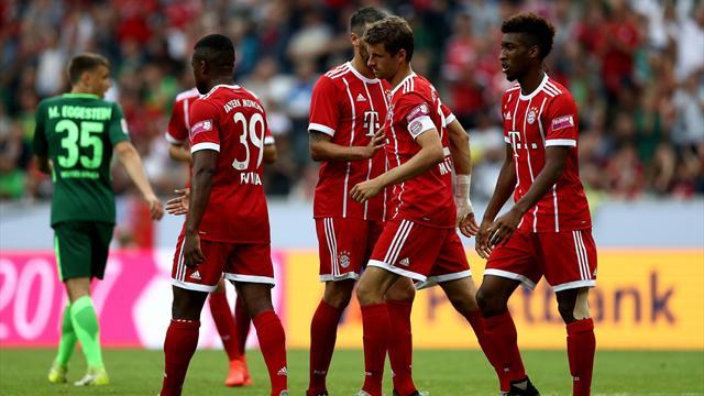 Verdächtig gut drauf: Bayerns beste Szenen vom Telekom Cup