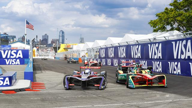 Bird on pole for second race in New York