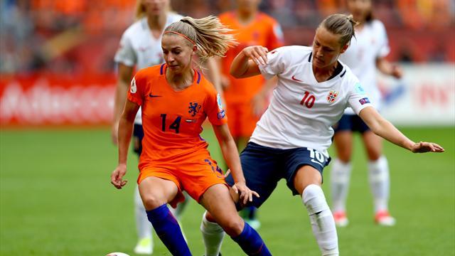 Niederlande starten mit Sieg in Heim-EM, Dänemark schlägt Belgien