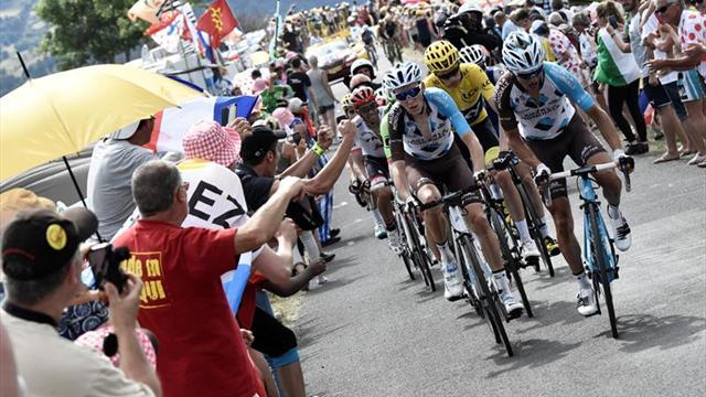 Nairo Quintana segundo en la etapa 13 del Tour de Francia