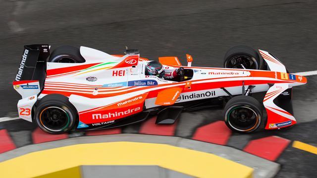 Formel E: Heidfeld in New York auf dem Podium