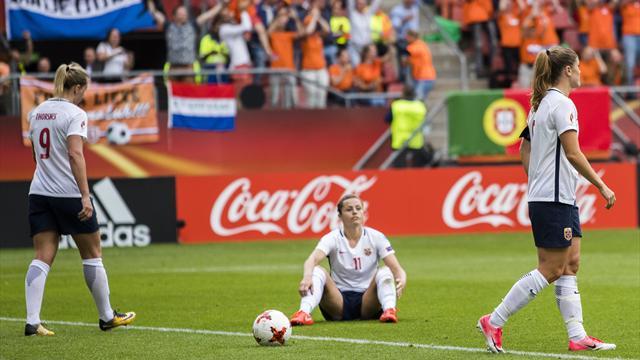 Norges fotballjenter gikk på en smell i åpningskampen