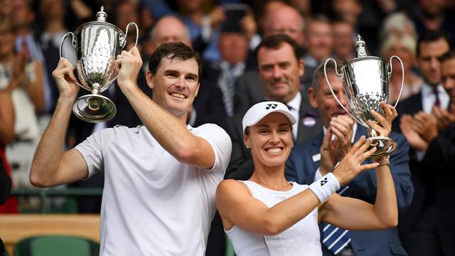 Murray and Hingis win mixed doubles crown