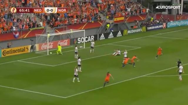 Oranje tobt: van de Sanden trifft zum Auftaktsieg (Highlights)