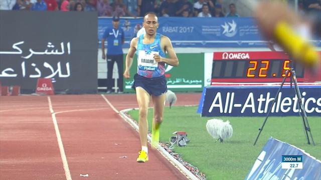 Athlete accidentally runs 200m alone after false start