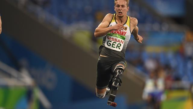 Para-WM: Sprinter Floors holt dritte Silbermedaille für DBS-Team