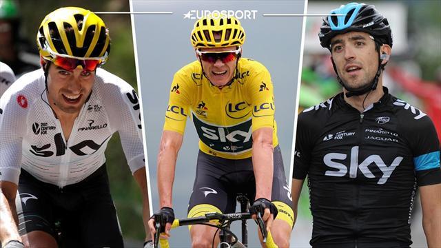 Tour de Francia 2017: Mikel (x2), principales responsables del maillot amarillo de Froome