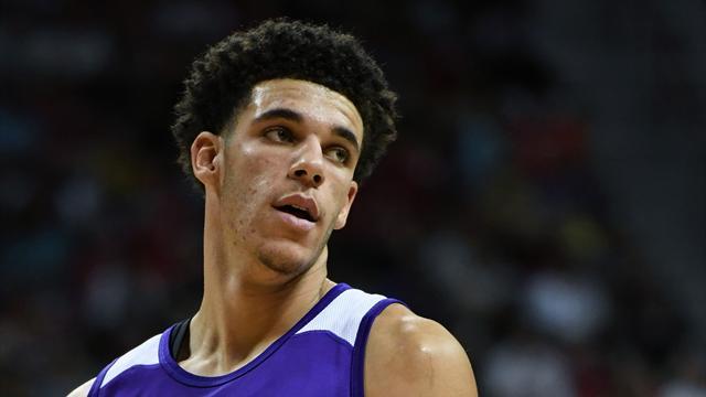 I crampi fermano Ball, ma i Lakers vanno in finale di Summer League con Portland