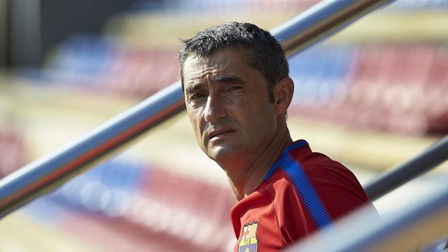 """Valverde, ante la falta de fichajes: """"Es difícil mejorar, estoy contento con lo que tengo"""""""