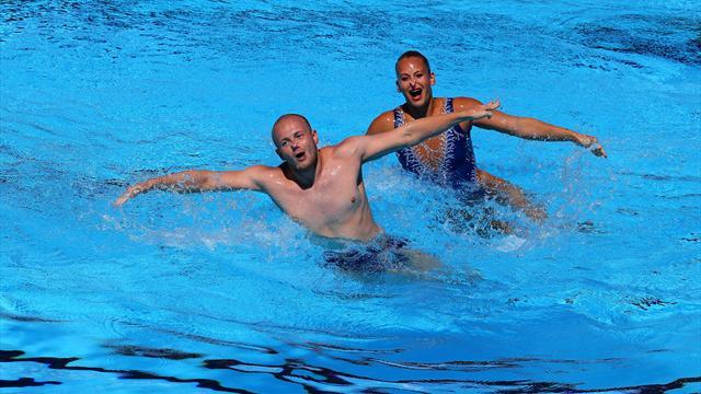 Erster deutscher Synchronschwimmer Stoepel bei WM-Premiere im Mixed-Finale Achter