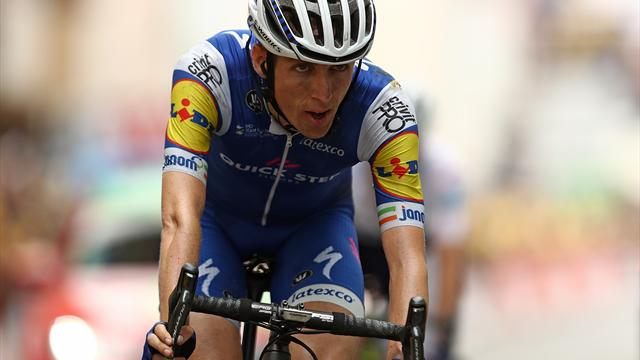 Dan Martin reveals he broke his back on Stage 9, still finished sixth overall