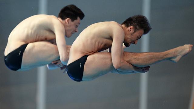 Schwimm-WM: Duo Hausding/Klein sicher in ihr letztes Finale