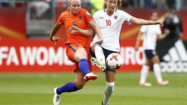 Frauenfußball-EM: 2,40 Mio. sehen Auftaktspiel Niederlande-Norwegen