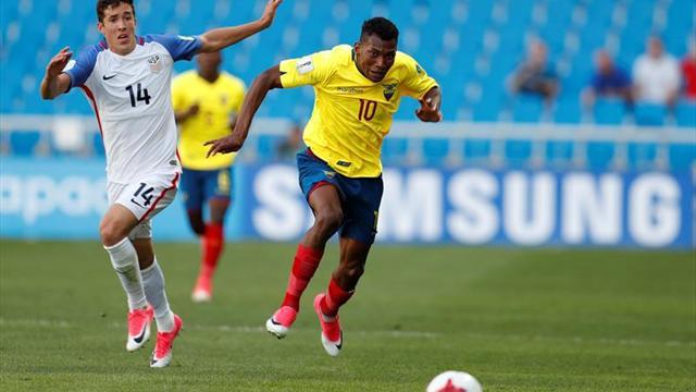 El centrocampista ecuatoriano Bryan Cabezas jugará cedido en el Pananthinaikós