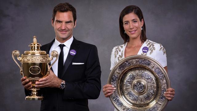 Wimbledon 2017: Federer, Garbiñe, Nadal y mucho más