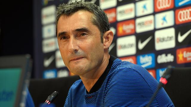 Das sagt Coach Valverde über mögliche Barça-Transfers