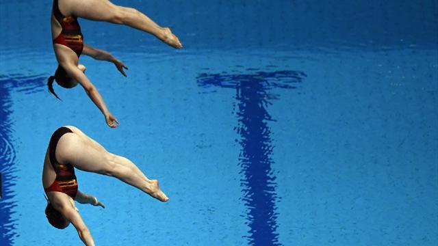 Schwimm-WM: Synchron-Duo Punzel/Freyer springt auf Platz neun