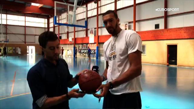 Rudy Gobert vous offre un ballon dédicacé