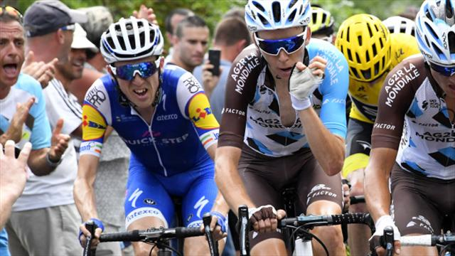 Dan Martin calls Tour de France 'only a bike race' as he chases yellow jersey