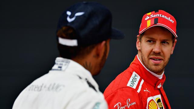 Un point entre Vettel et Hamilton : la F1 vit l'un des championnats les plus serrés de son histoire