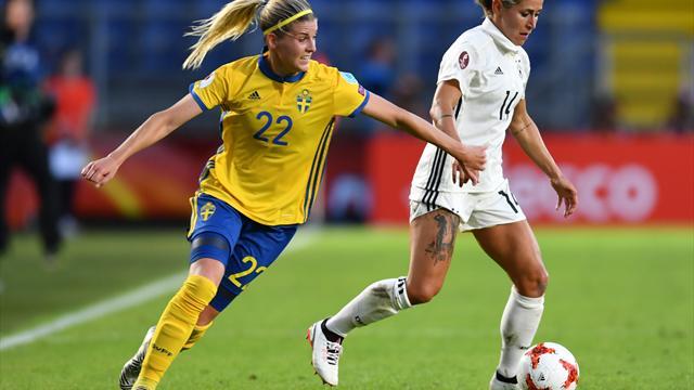 EM-Stotterstart: DFB-Frauen mit Nullnummer gegen Schweden