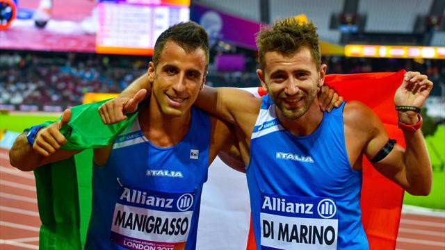 Italia show ai Mondiali Paralimpici: Manigrasso argento, Di Marino bronzo nei 400 metri