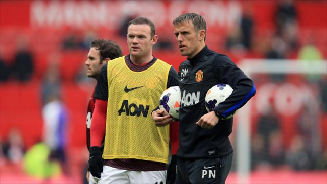 Phil Neville has high hopes for Everton with Wayne Rooney leading the way