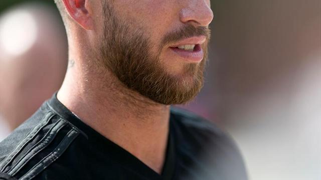 Sergio Ramos se entrena junto a sus compañeros en UCLA