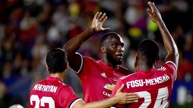 Lukaku mit erstem Tor für Manchester United