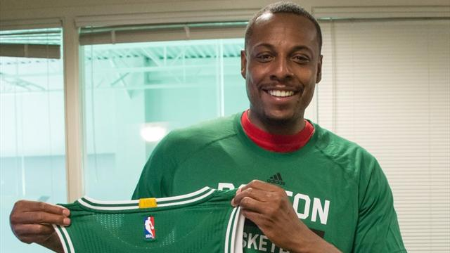 Paul Pierce kariyerini Celtics formasıyla noktaladı