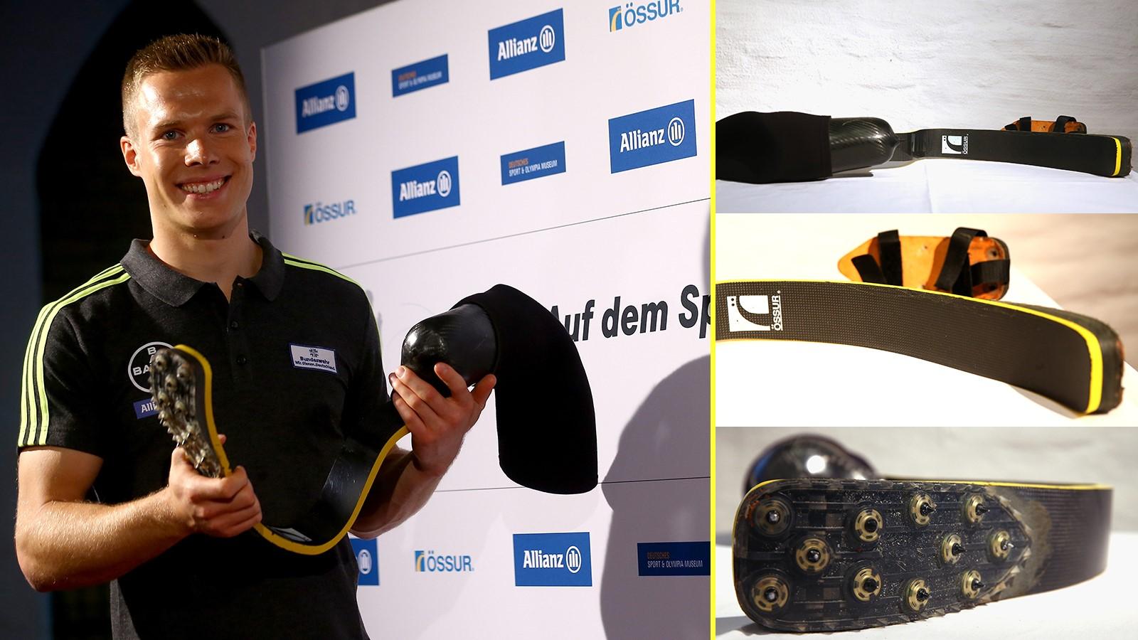 """Markus Rehm: il """"Blade Jumper"""" capace di saltare 8.40 metri con una protesi"""