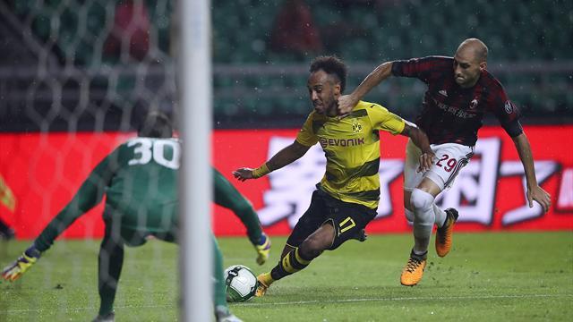 Bacca a brillé mais Aubameyang a puni les Milanais : le résumé d'AC Milan-Dortmund