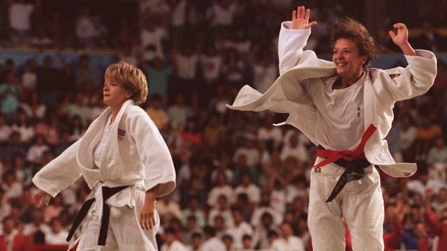 Rivali per l'oro nel judo a Barcellona 1992, oggi sono sposate