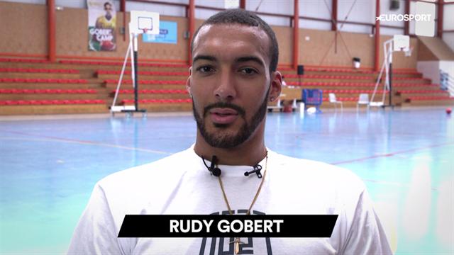 Jordan ou Bryant ? L'interview dilemme de Rudy Gobert