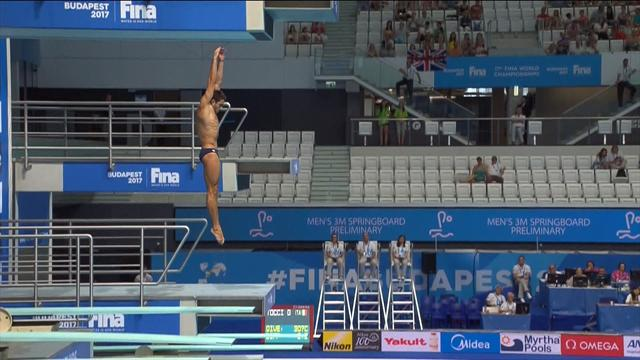 'Oh no...he's gone in feet first' A series of diving disasters from the World Championships