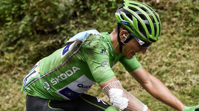 Marcel Kittel yeşil mayoyla Tour de France'ı terk etti