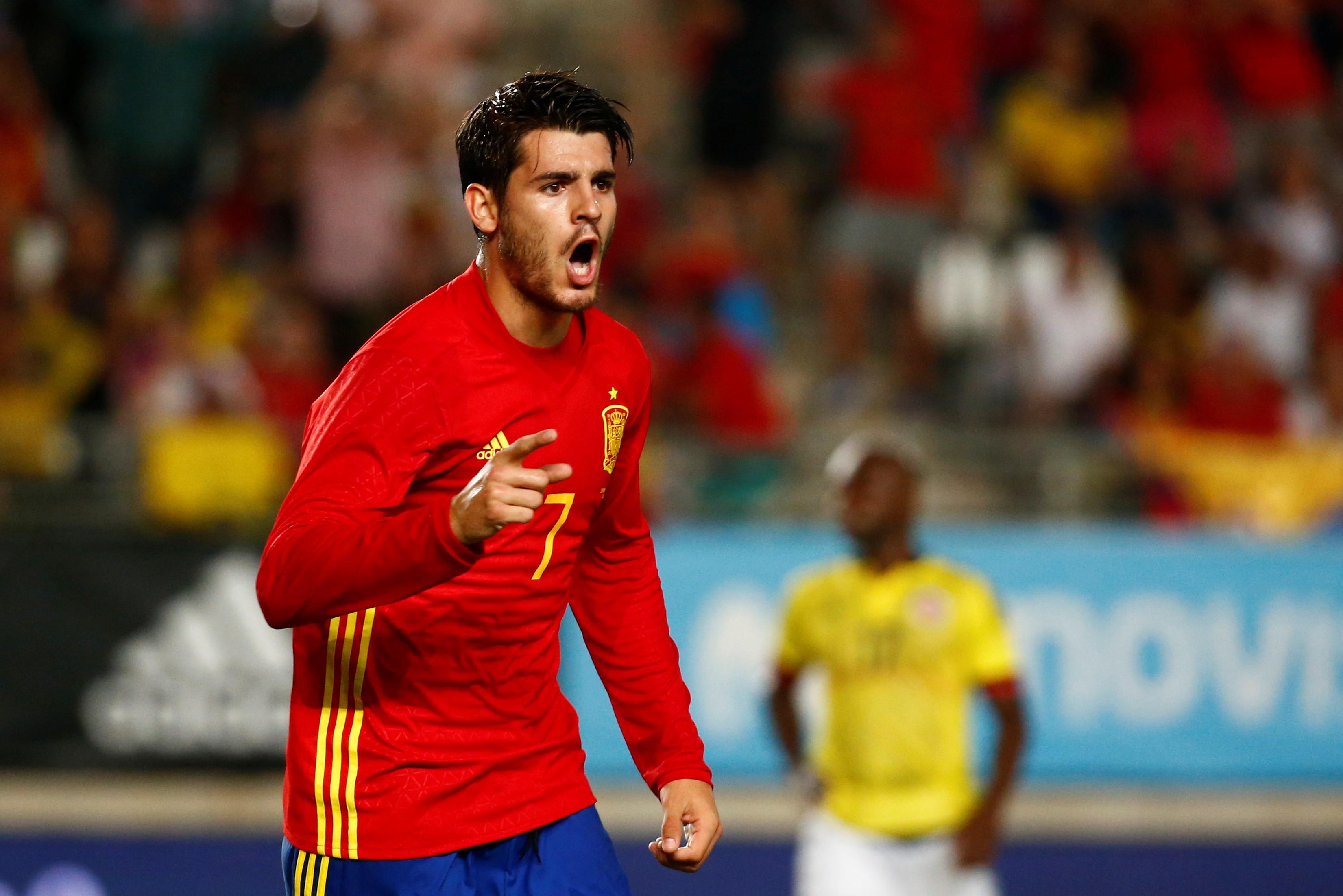 Альваро Мората, сборная Испании