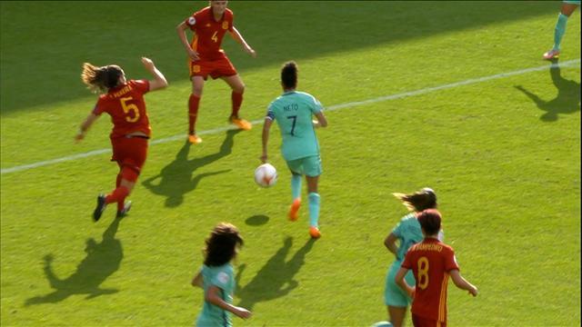 Pour son entrée, l'Espagne n'a laissé aucune chance au Portugal