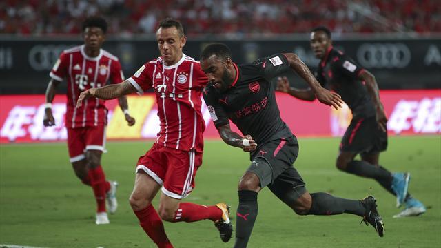 Lacazette n'a pas marqué, mais Arsenal a finalement eu raison du Bayern